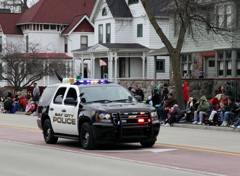 Police Vehicle in Parade